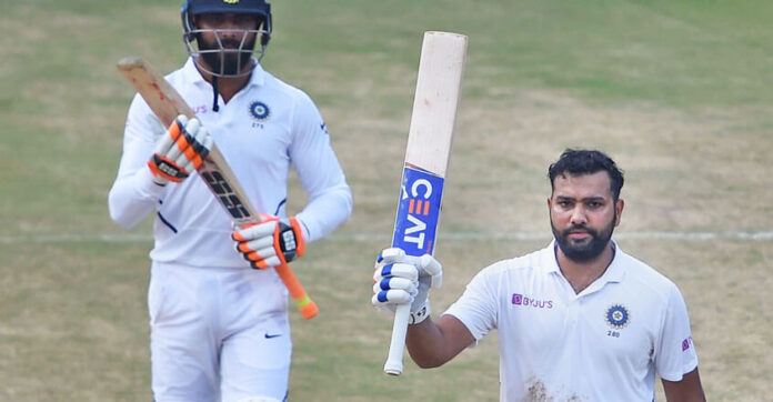 Rohit Sharma scored century for Indian against England