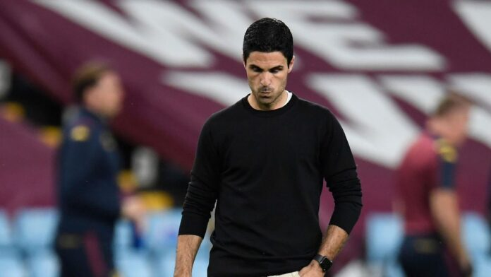 Mikel Arteta apologizes to fans after Liverpool defeat, Tierney suffered an injury in Liverpool loss