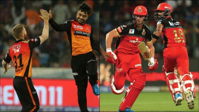 Match no. 6 to take place between SRH vs RCB Dream pick for the match.