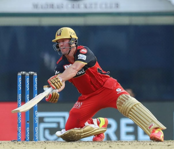 ABD has saved RCB in 2 out of 3 matches in this IPL