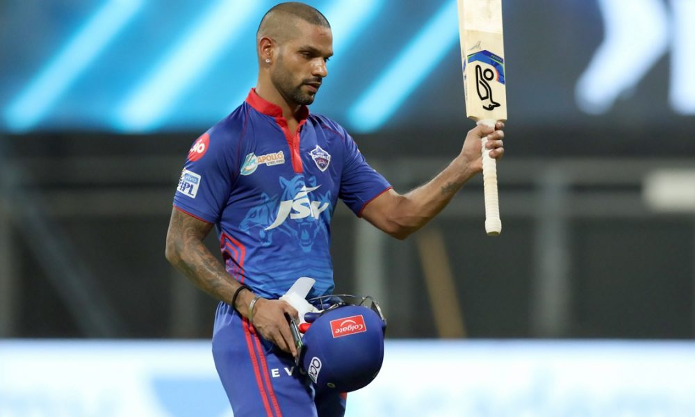 Shikhar Dhawan played exceptionally well in the previous game against Punjab Kings.