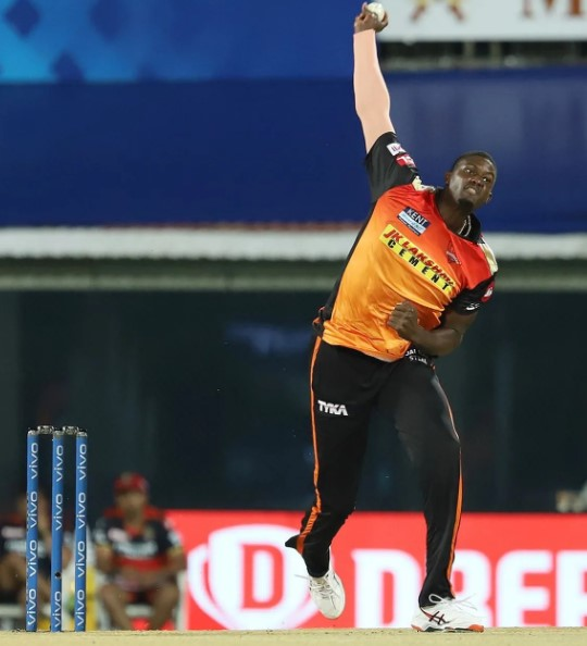 Holder has picked three wickets in last match in IPL