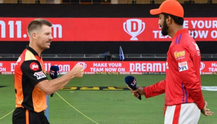 PBKS will face SRH today in Chennai