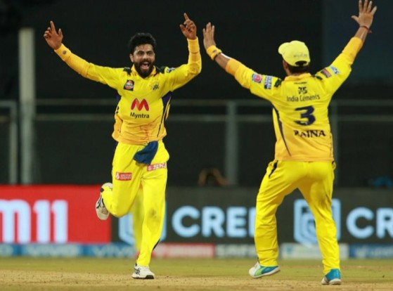Jadeja took two wickets and four catches in last Match against RR