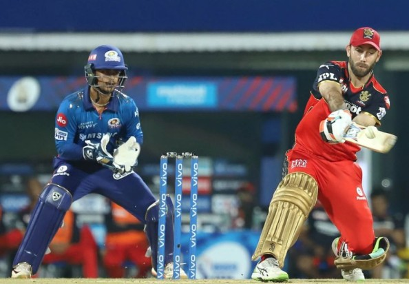 Maxwell batted well for RCB in the first match