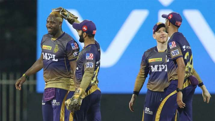 Russel shines with ball for KKR