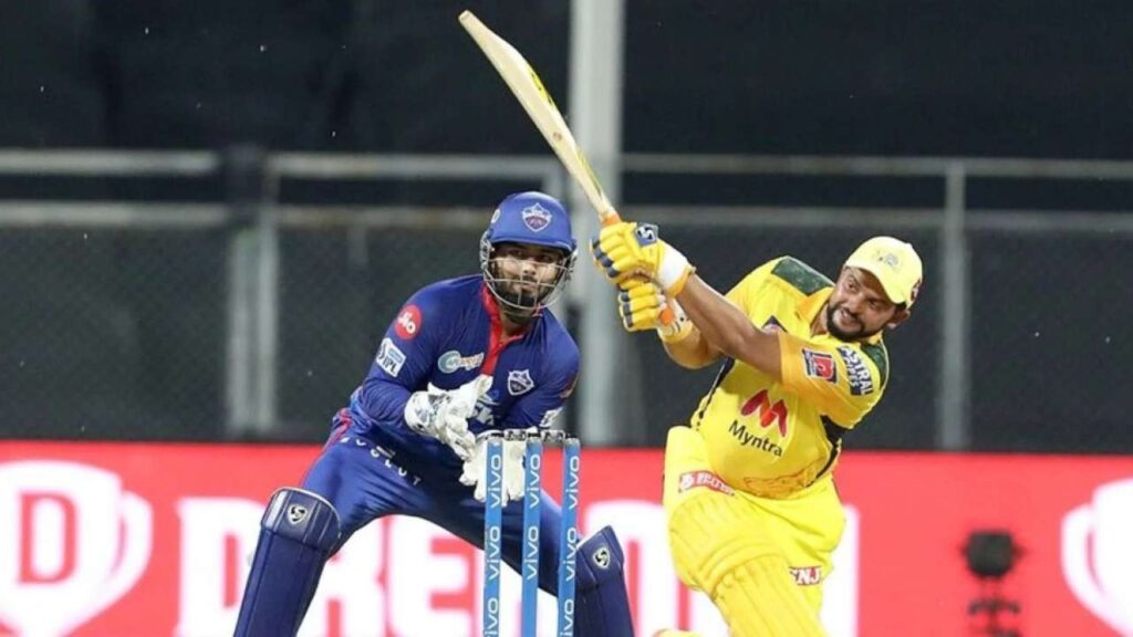 Raina fifty for CSK against DC