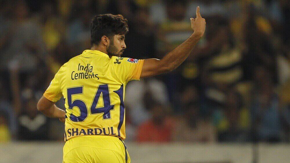 Thakur in form for CSK