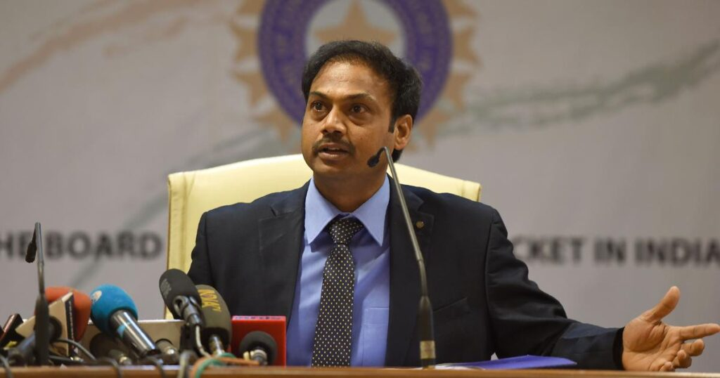 MSK Prasad said that Devdutt Paddikal and other young talents need more time to play for the national squad