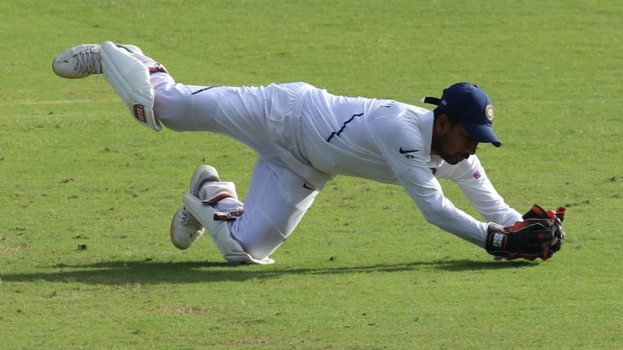 Wriddhiman Saha is in the test squad going to England