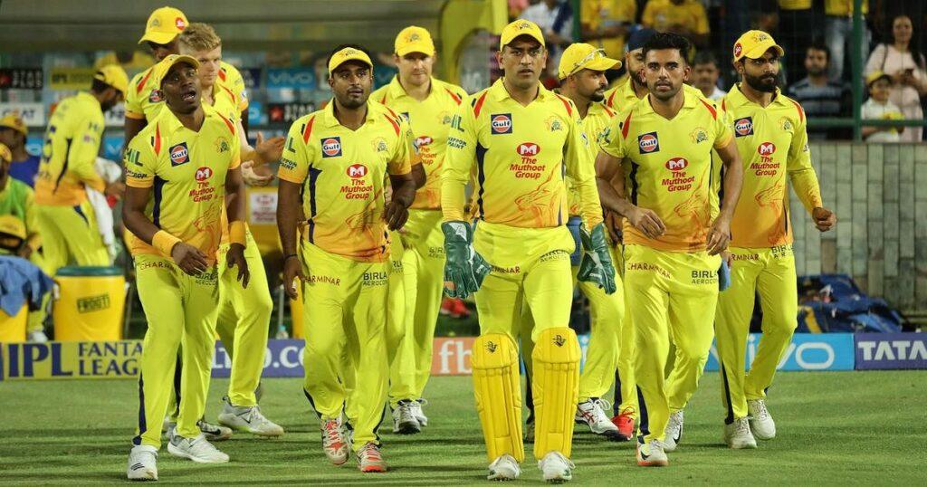 MS Dhoni last to leave CSK camp