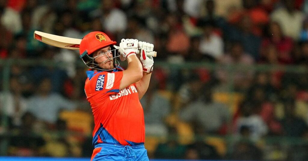 Finch last played for RCB