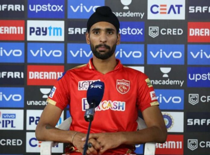 Brar was man of the match against RCB