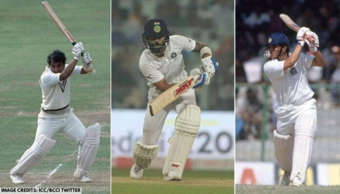 An all-time Test XI of India has been created recently.