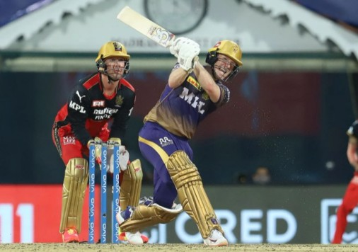 Morgan has to score runs and lead his team against RCB