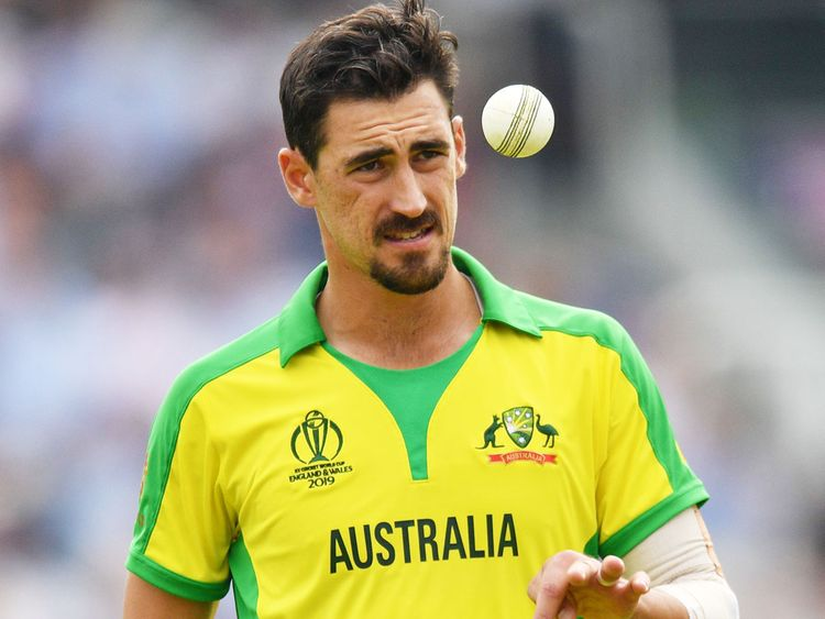 Starc is one of the main fast bowlers Australia