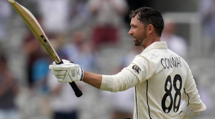 Devon Conway made double century in his debut test match