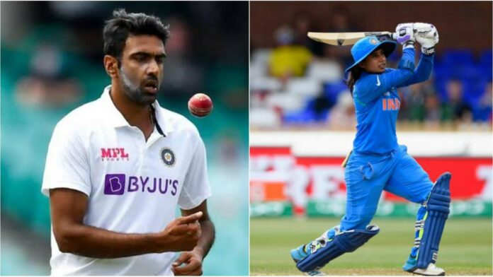 The BCCI has recommended the names Indian off-spinner R Ashwin and veteran women's cricketer Mithali Raj for the prestigious Khel Ratna award.