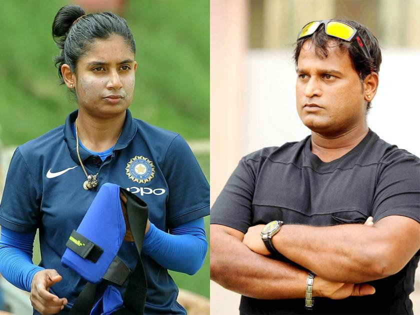 There was an issue between Mithali Raj and Ramesh Powar