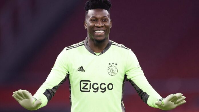 Arsenal, among others, are keen to swoop up the Ajax stopper