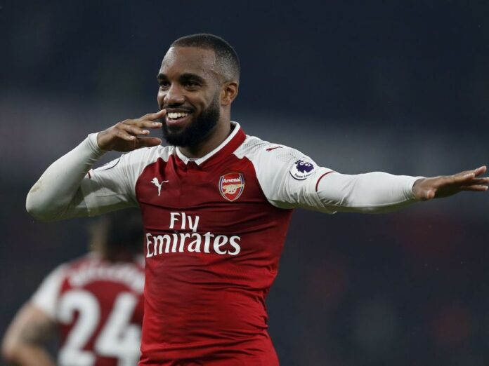 Lacazette joined Arsenal from Lyon in 2017