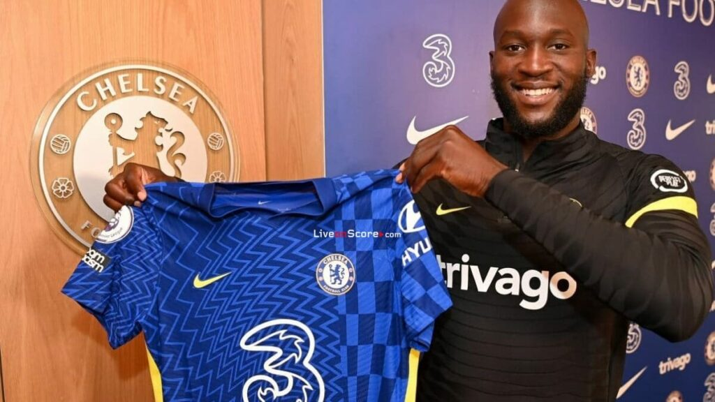 Jersey number 9 of Chelsea vacated for Romelu Lukaku, Six Sports