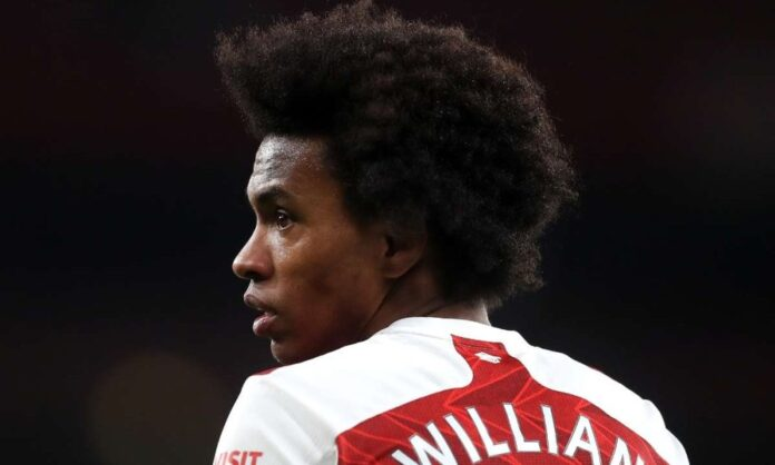 Arsenal working on an agreement to terminate Willian contract