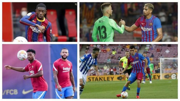 Barcelona to offer new long-term contracts to four future stars