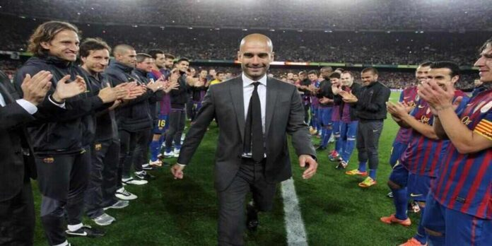 Barcelona are working on a return for Pep Guardiola