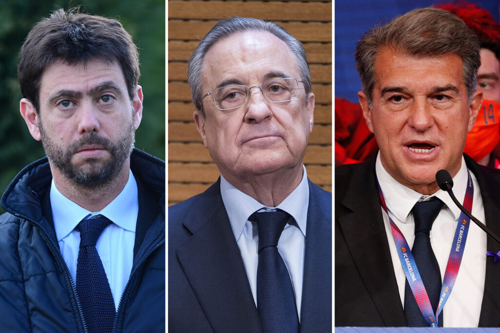 Real Madrid, Barcelona, and Juventus wants European Super League, Six Sports