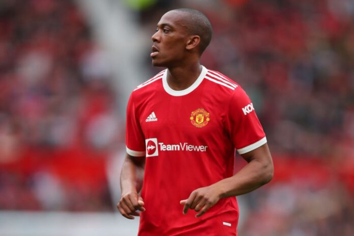 Barcelona are keeping tabs on Manchester United forward Anthony Martial