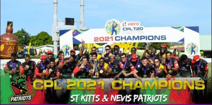 St. Kitts and Nevis Patriots have won the Caribbean Premier League or CPL for the first time by defeating the St. Lucia Kings.