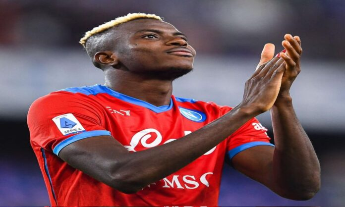 Manchster United and Manchster City are scouting Napoli Forward Victor Osimhen