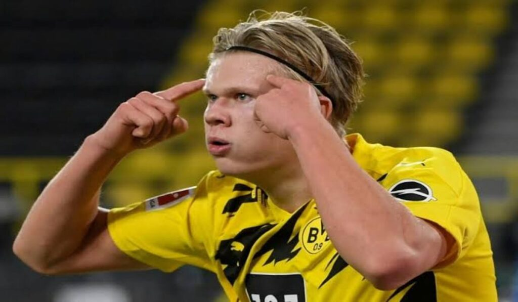 How Would Manchester City Line Up With Erling Haaland If He Joins, Six Sports