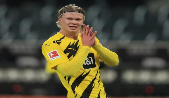 How Would Manchester City Line Up With Erling Haaland If He Joins