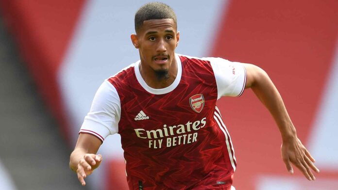 William Saliba included in Arsenal's long-term plans